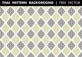 Thai Pattern Hintergrund Free Vector