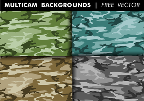 Multicam Backgrounds Free Vector