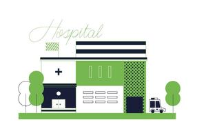 Livre Hospital Vector