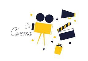 Vecteur de cinéma gratuit