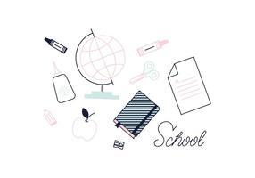 Vettore della scuola gratis