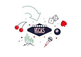 Vector libre de Las Vegas