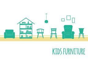 Icônes pour meubles pour enfants