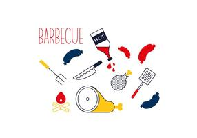 Vector Barbecue Gratuito