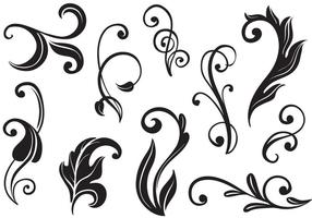 Free Flourishes II Vectors