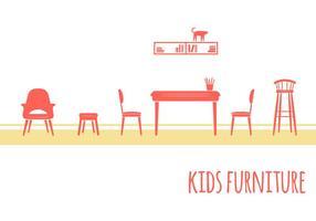 Meubles de chambre pour enfants