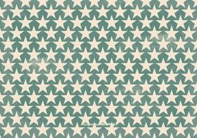 Vieux Retro Style Vector Star Background