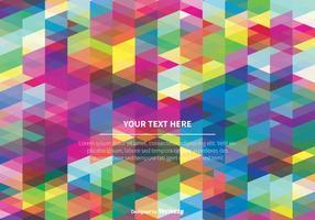 Kleurrijke Abstracte Vector Achtergrond
