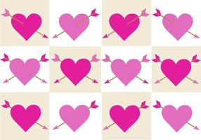 Gratis Valentines Arrow Vector