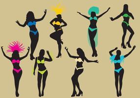 Silhuetas de Samba