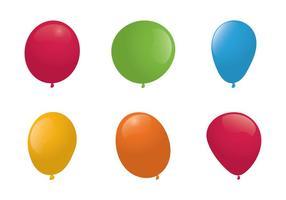 Illlustration de los globos libres del vector