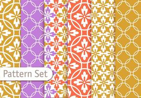 Colorful Geometrc Pattern Set