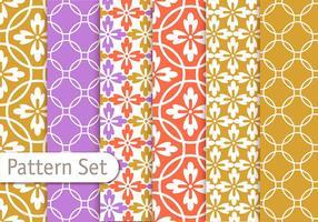 Colorful Geometrc Pattern Set