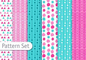 Cute Fun Decorative Pattern Set