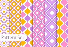 Colorful Decorative Pattern Design Set