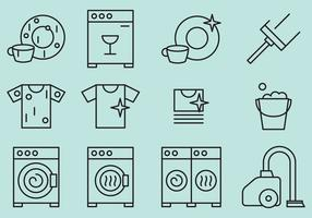 Limpieza de iconos vectoriales