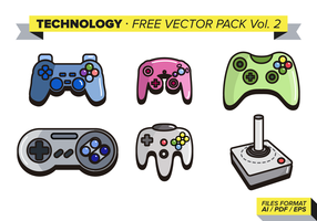 Technologie Gratis Vector Pack Vol. 2