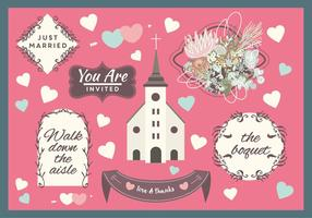 Gratis Wedding Vector Elementen