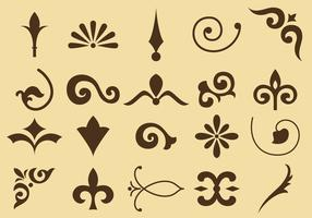 Flourish Vector Iconos