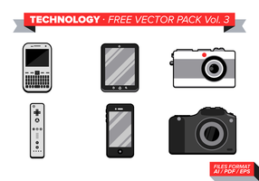 Technology Free Vector Pack Vol. 3