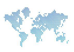 Wereldkaart Gratis Vector Illustratie Vol. 6