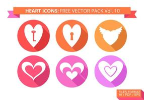 Hart Pictogrammen Gratis Vector Pack Vol. 10