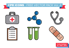 Iconos Cpr Pack Vector Libre