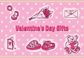 Icone vettoriali gratis di San Valentino