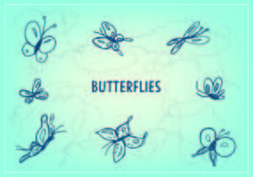 Free Butterfly Icon Vector