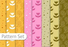 Floral-decorative-pattern-set