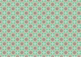 Green Mosaic Pattern Background vector
