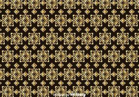Gold Talavera Seamless Pattern