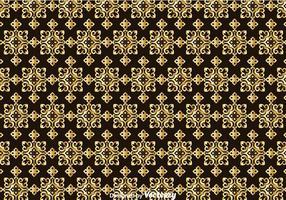 Guld Talavera sömlöst mönster