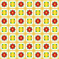 Padrão sem emenda floral Talavera