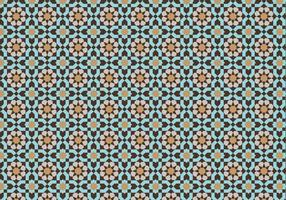 Moroccan Mosaic Pattern Bacground vector