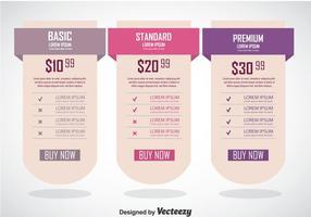Modelo de Banner de Tabela de Preços