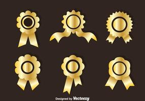 Golden Cockade Vector Sets