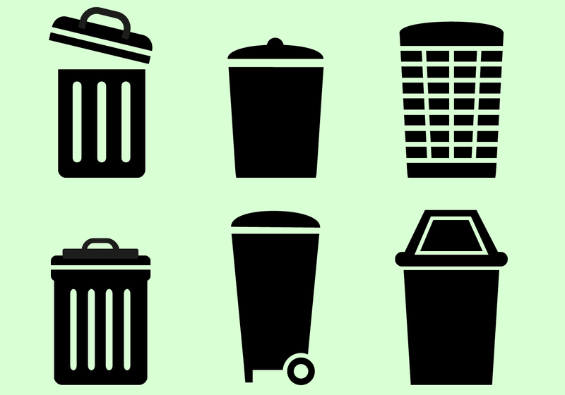 trash can vector download free vector art stock graphics images rh vecteezy com garbage can vector free trash can vertical planter