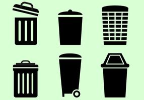 Kostenloser Mülleimer Vektor