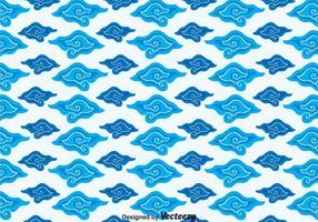 Megamendung Batik Background Vector