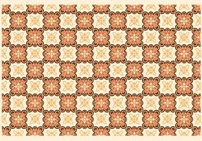 Modern Batik Kawung Vector
