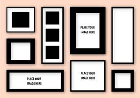 Vector libre marco de la fotografía