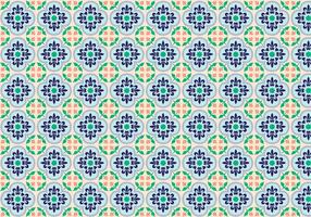Mosaic Decorative Pattern Vector