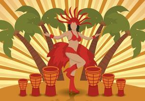 Vecteur samba