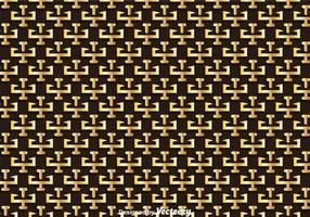 Oro patrón clave griega