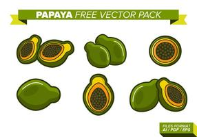 Papaya Free Vector Pack