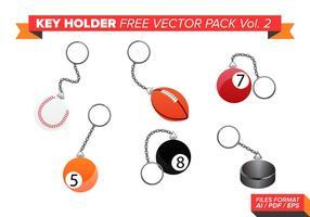 Sleutelhouder Gratis Vector Pack Vol. 2