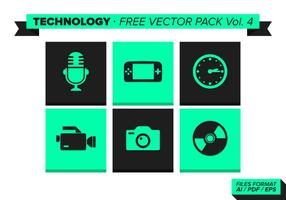 Technologie Gratis Vector Pack Vol. 4