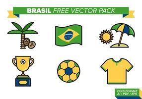 Pack vecteur gratuit au Brésil
