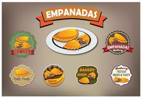 Empanadas Vektor